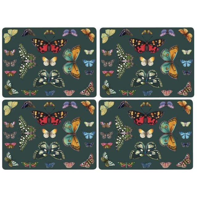 Portmeirion Pimpernel Botanic Garden Harmony Placemats Set of 4