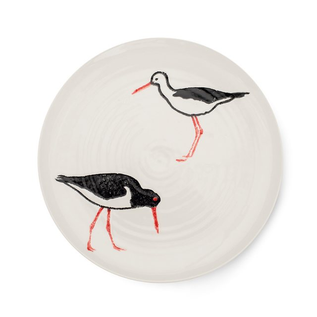 Emily Bond Oyster Catcher Dinner Plate