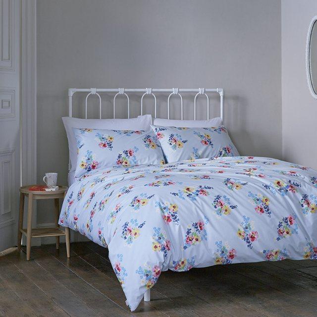 Cath Kidston Cath Kidston Painted Posy Double Duvet Cover