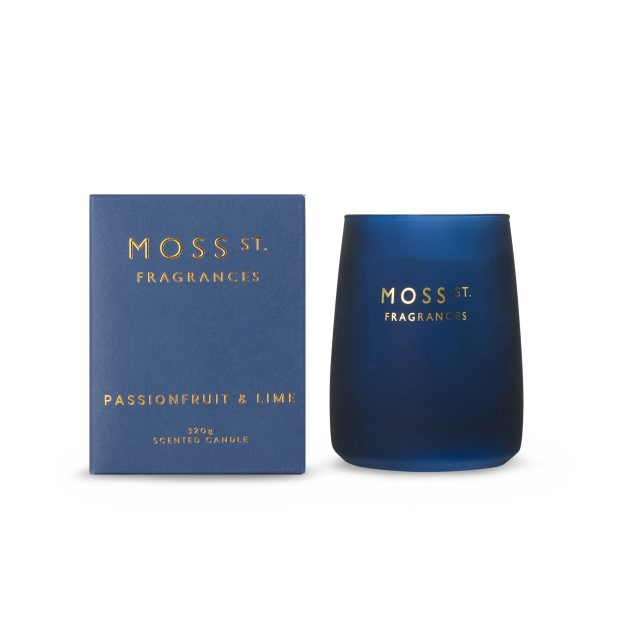 Moss St Passionfruit & Lime Candle 320g