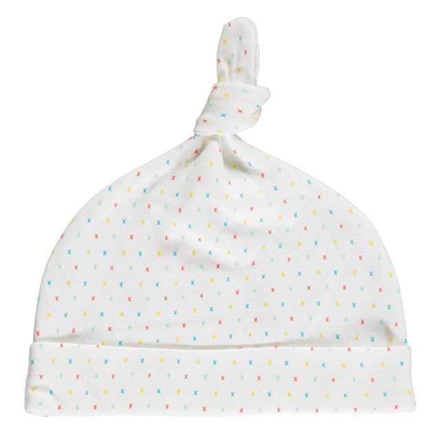 From Babies with Love First Kisses Organic Knot Hat 3-6 Months