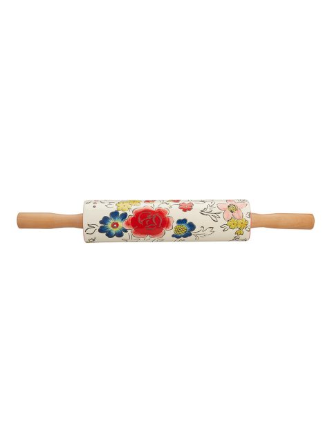 Molly Hatch Flower Rolling Pin
