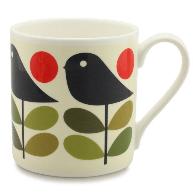 Orla Kiely Orla Kiely Early Bird Mug