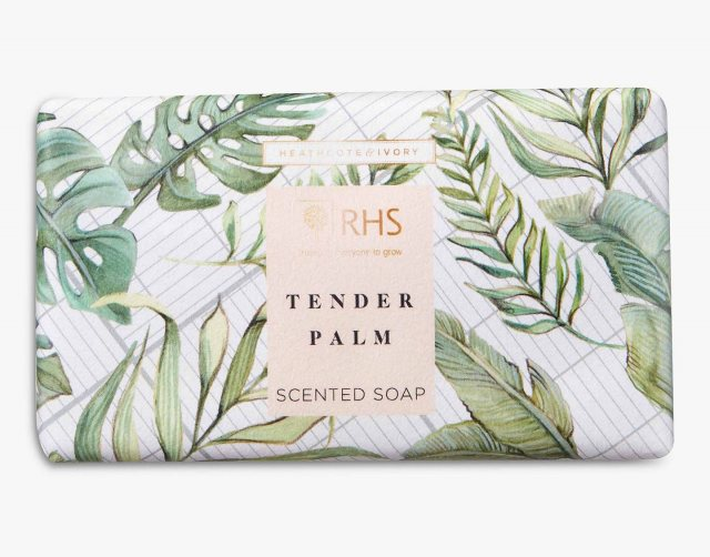 RHS Tender Palm Scented Soap