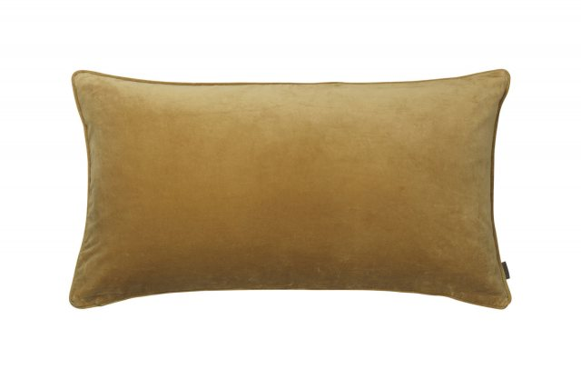 Velvet Soft Gable Cushion Dijon