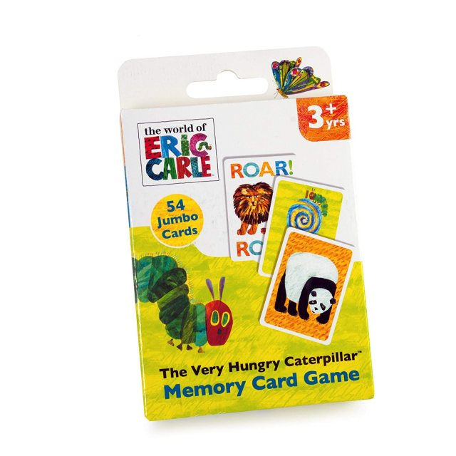 The Very Hungry Caterpillar The Very Hungry Caterpillar Memory Card Game