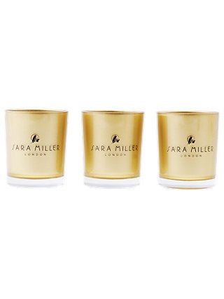 Sara Miller London Sara Miller Gift set of 3 Votive Candles
