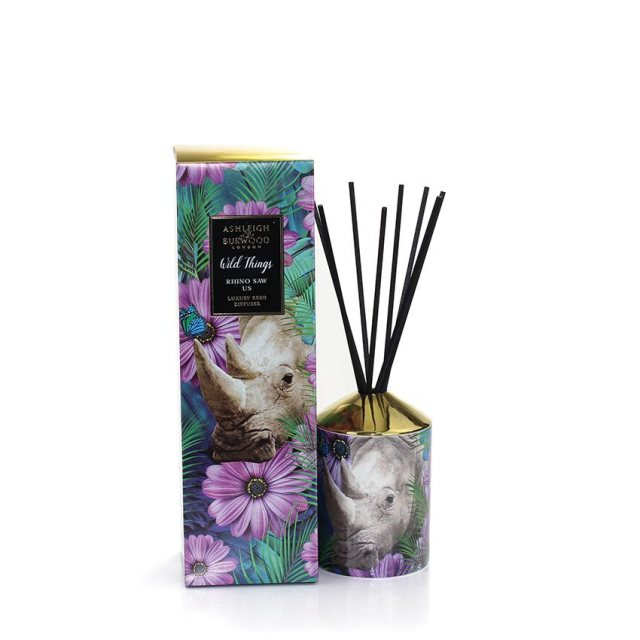 Ashleigh & Burwood London AShleigh & Burwood Wild Things Rhino Saw Us Violet & Amber Diffuser