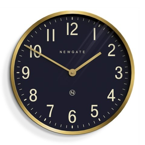 Newgate Mr Edwards Radial Brass Clock