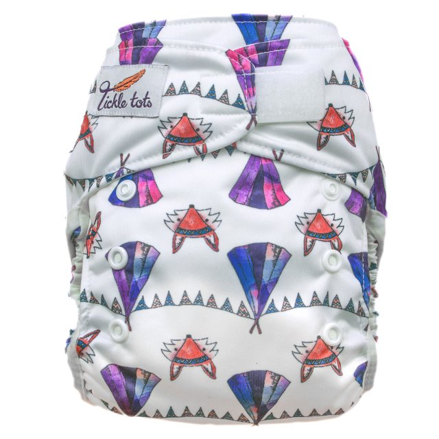 Tickle Tots Tickle Tots Hybrid Nappy Camping