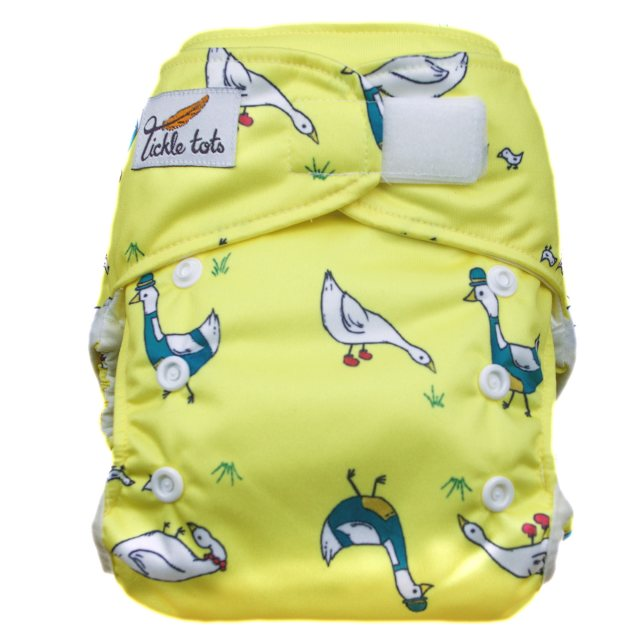 Tickle Tots Tickle Tots Hybrid Nappy Dizzy Ducks