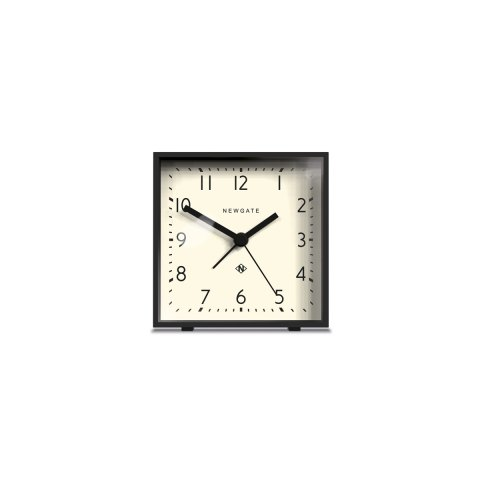 Newgate The Cubic Alarm Clock White Face