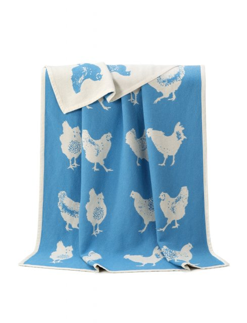 Cockerel Cotton Blanket