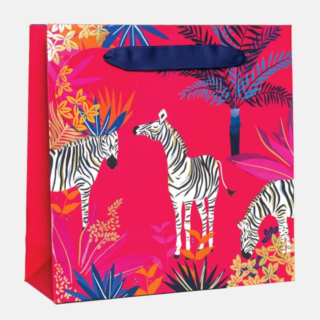 Sara Miller London Sara Miller Zebra Medium Gift Bag