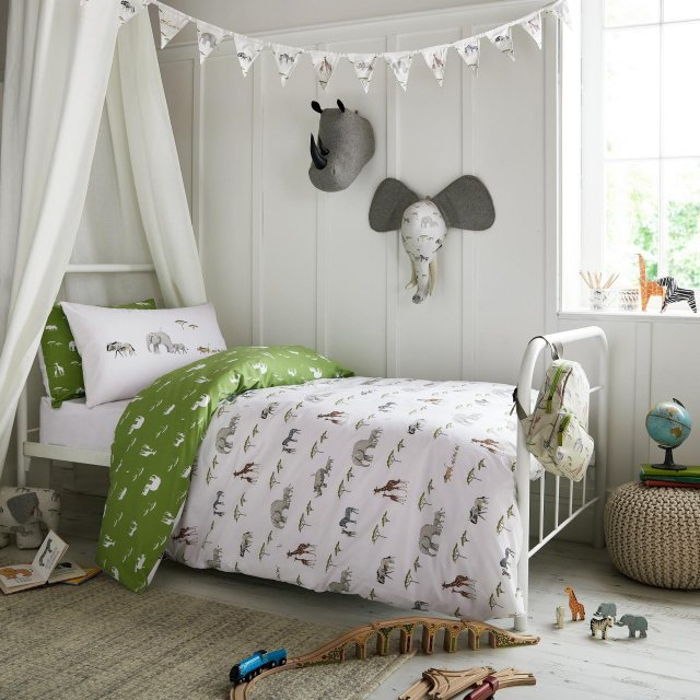 Sophie Allport Sophie Allport On Safari Double Duvet Set