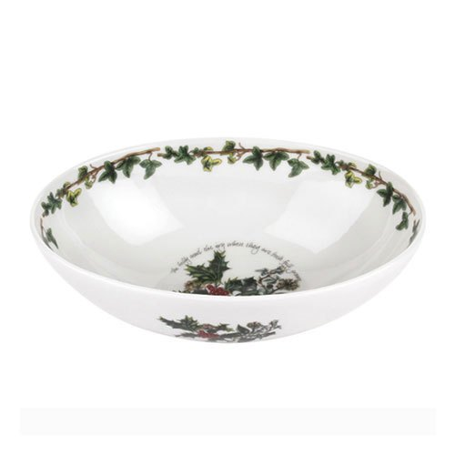 Portmeirion The Holly and The Ivy Oval Nesting Bowl 8 Inch