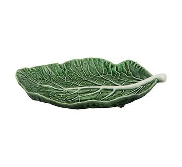 Bordallo Pinheiro Cabbage (Couve) 25cm Leaf Natural Pack x 2