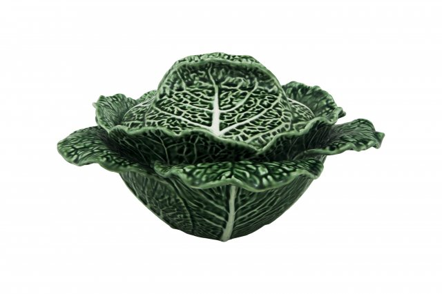 Bordallo Pinheiro Cabbage (Couve) 2L Tureen Natural