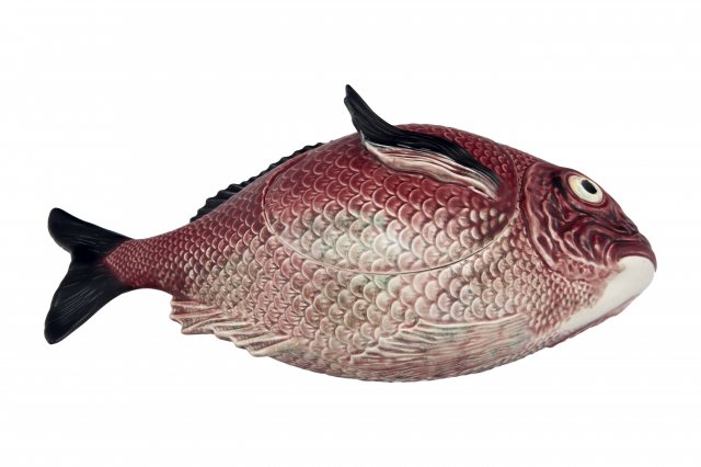 Bordallo Pinheiro Fish Horizontal Tureen 3.3L