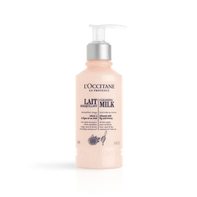 L'Occitane Cleansing Milk Facial Make-Up Remover 200ml