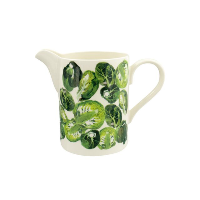 Emma Bridewater Vegetable Garden Sprouts Medium Straight Jug