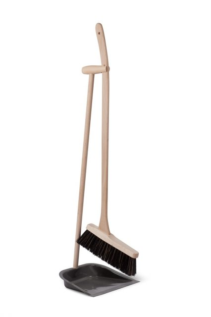 Garden Trading Dustpan & Brush With Beech Handle