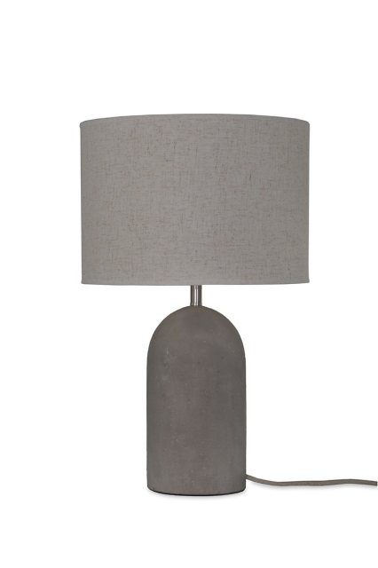 Garden Trading Millbank Bullet Table Lamp - Polymer Concrete