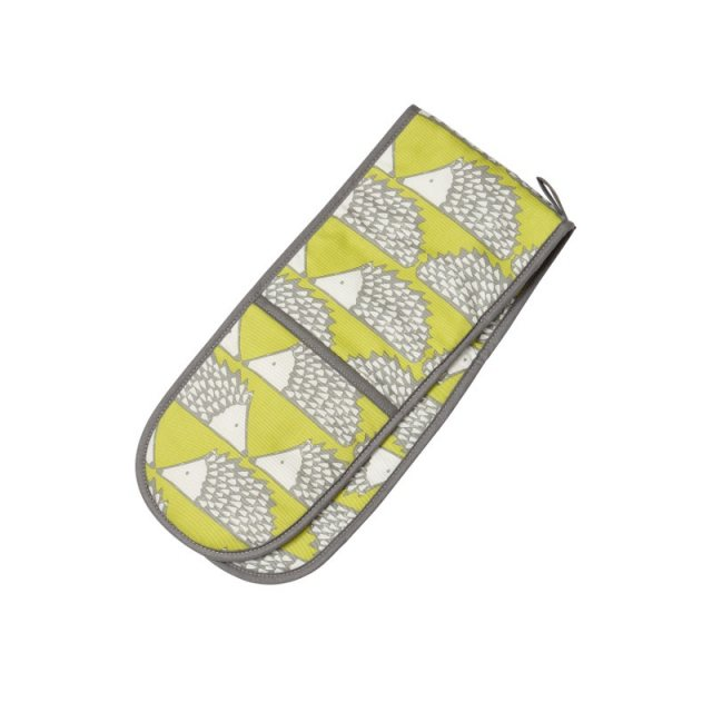 Scion Living Spike Double Oven Gloves - Green