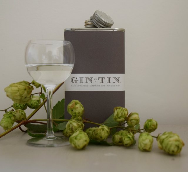 Gin In A Tin No.11 Fuggles Hops, Coriander Seed & Maris Otter Malt 50cl
