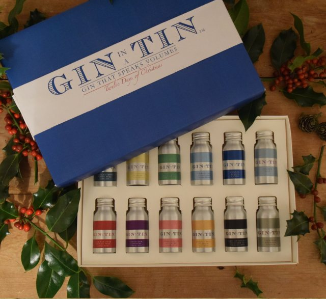 Gin In A Tin 12 Days Of Christmas