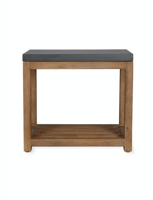 Chilson Side Table With Shelf
