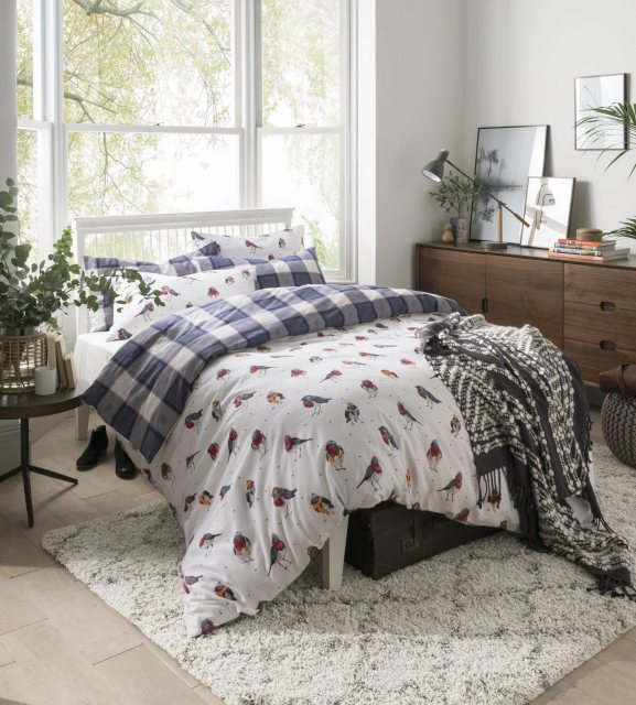 Fat Face Fat Face Robins Bedset (Reversible)