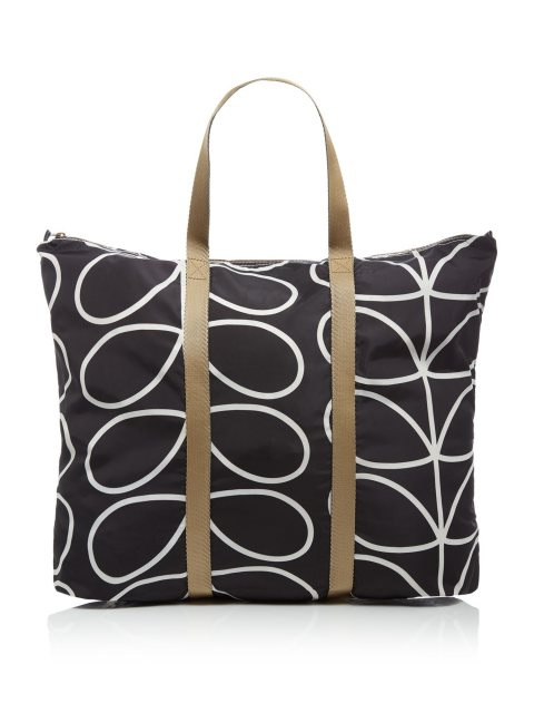 Orla Kiely Orla Kiely Classic Giant Linear Stem Foldaway Travel Bag