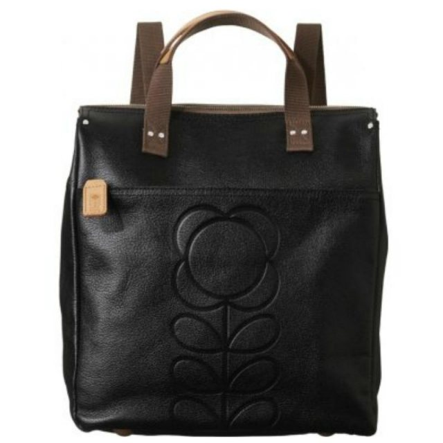 Orla Kiely Orla Kiely Embossed Flower Backpack