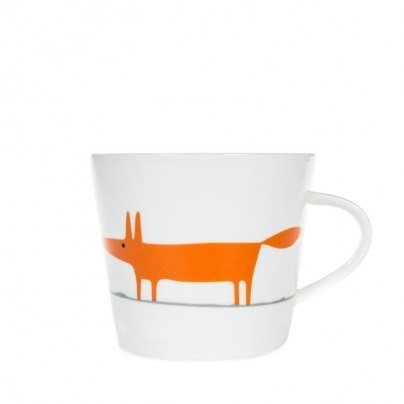 Scion Living Ceramic & Orange Mug Mr Fox
