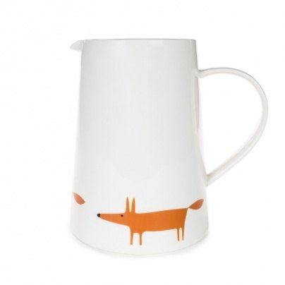 Scion Living Ceramic & Orange Large Jug Mr Fox