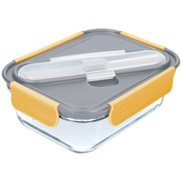 Built Stylist 1 Litre Bento Box with Cutlery