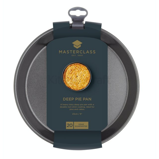 MasterClass Non Stick Deep Pie Pan