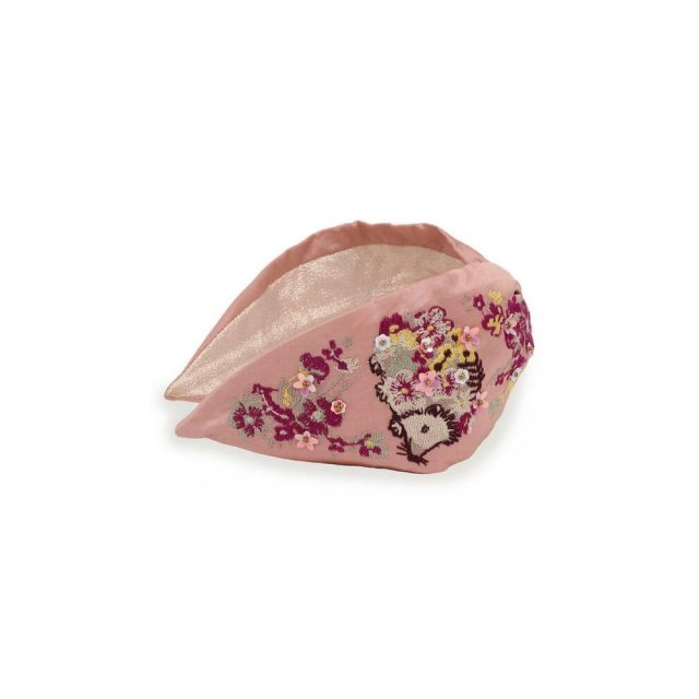 Hedgehog Headband Pink