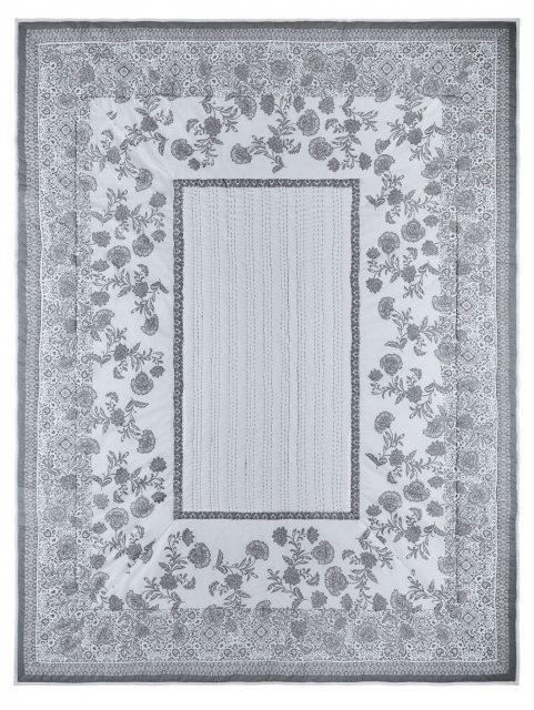 Fat Face Fat Face Tapestry Throw Tile Grey 150x200cm