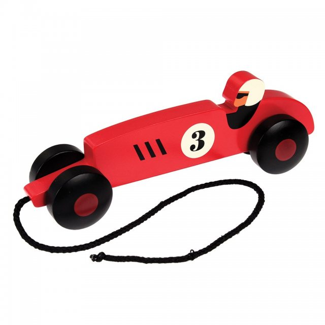 Rex London Vintage Racer Pull Toy