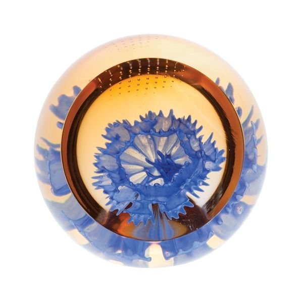 Floral Charms Cornflower Paperweight