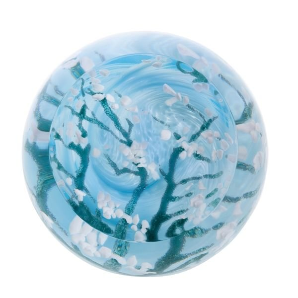 Abstract Artistic Impressions Blossom Paperweight