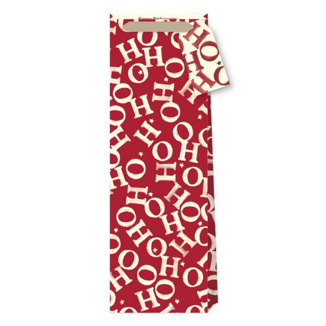 Emma Bridgewater Emma Bridgewater Xmas Joy Ho Ho Bottle Bag