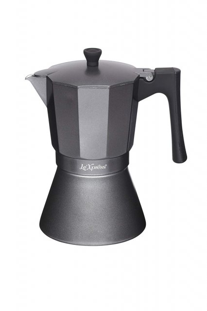 LeXpress Induction Safe Espresso Coffee Maker 9 Cup