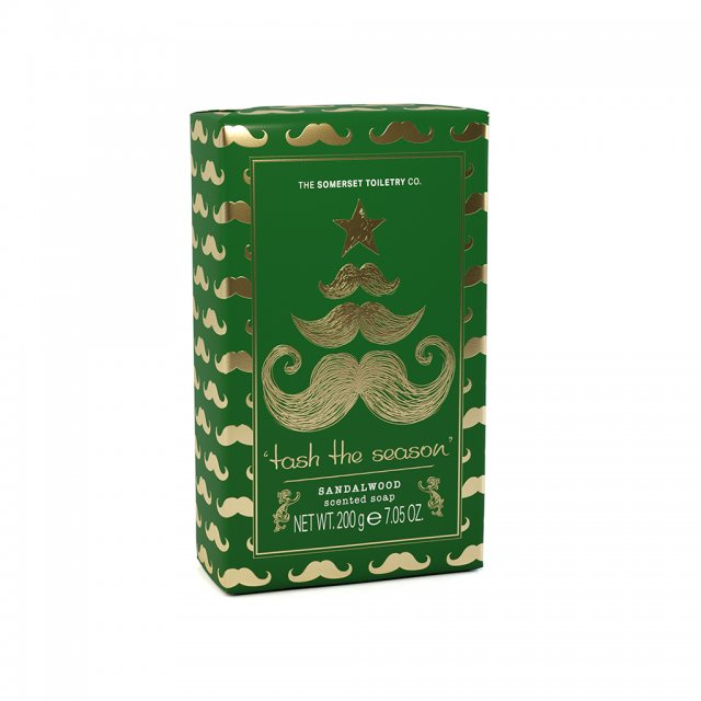 The Somerset Toiletry Company Christmas Mr Soap Sandalwood