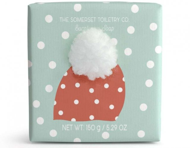 The Somerset Toiletry Company Bobble Hat Soap Eucalyptus