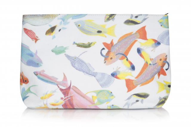 Rose Fulbright Rose Fulbright Tropical Print Wash Bag