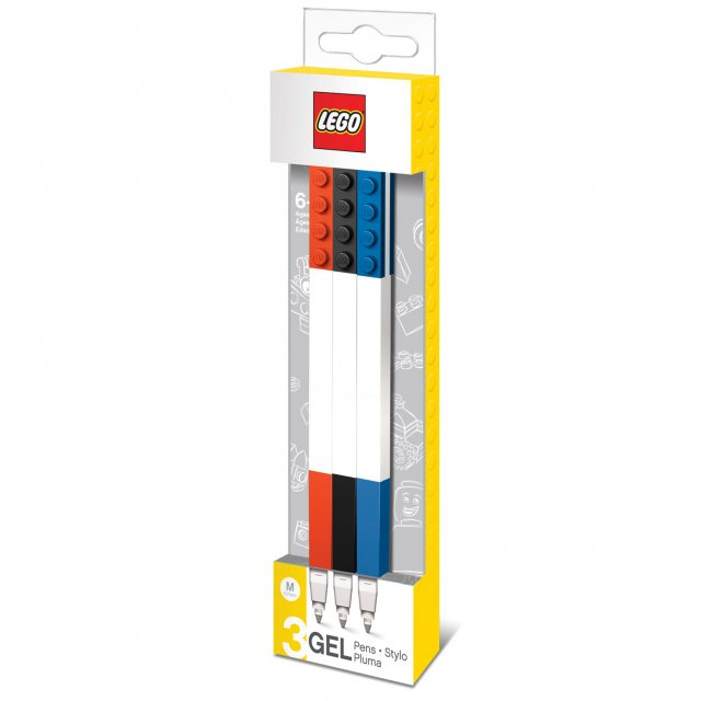 LEGO Lego Gel Pen 3pc