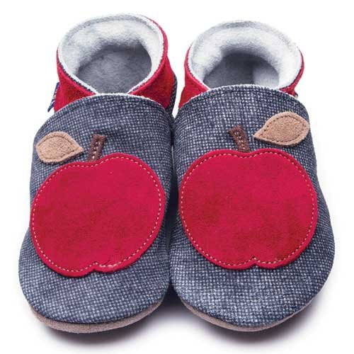 Inch Blue Apple Shoes 6-12m
